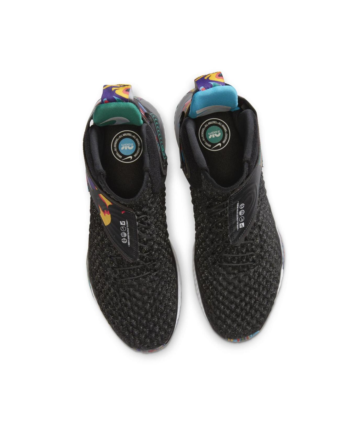 Nike Air Zoom UNVRS Fly Ease  Black/Black/Current Blue/White