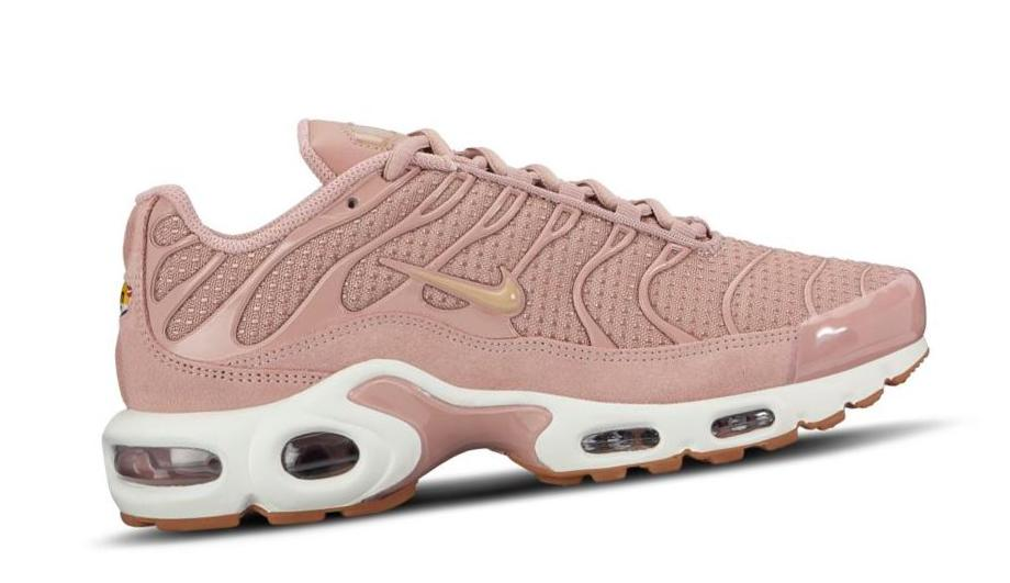 Nike Air Max Plus Particle Pink /Sail / Brown Rubber / Brown