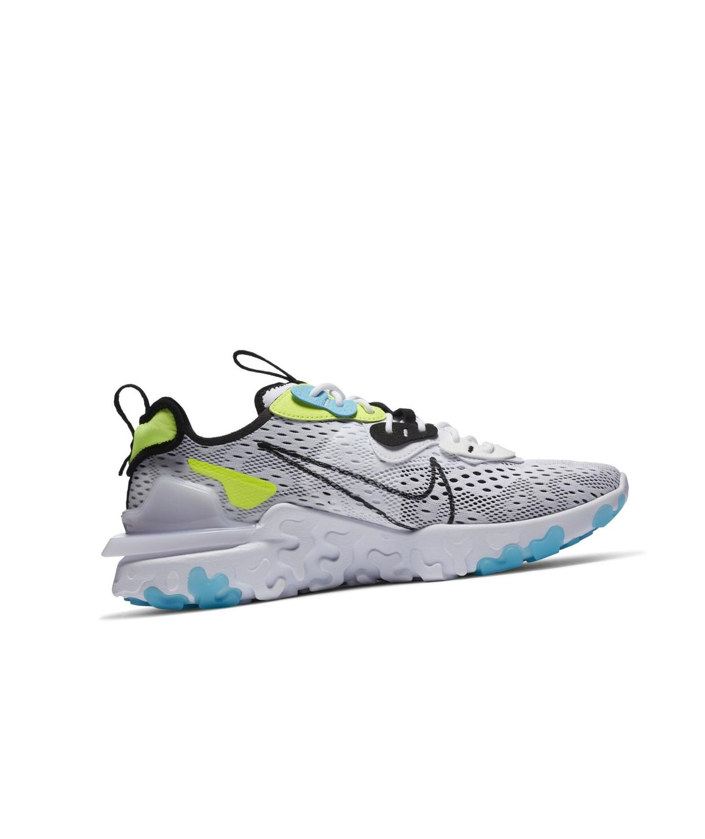 Nike React Vision White/Volt/Blue Fury/Black
