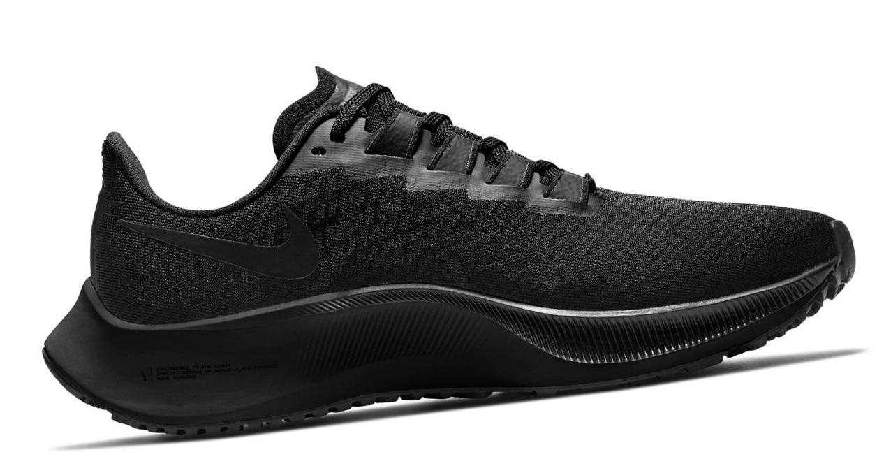 Nike Air Zoom Pegasus 37 Black/Dark Smoke Grey/Black
