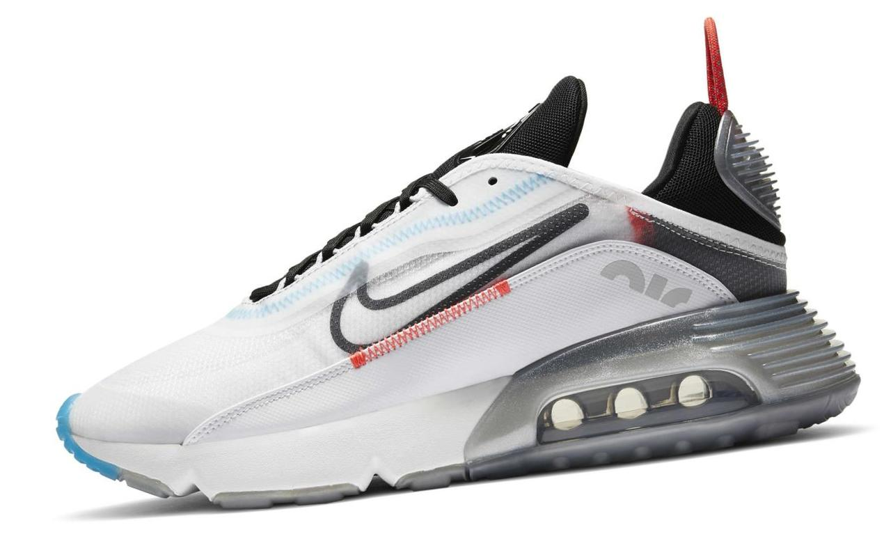 Nike Air Max 2090 White/Pure Platinum/Bright Crimson/Black