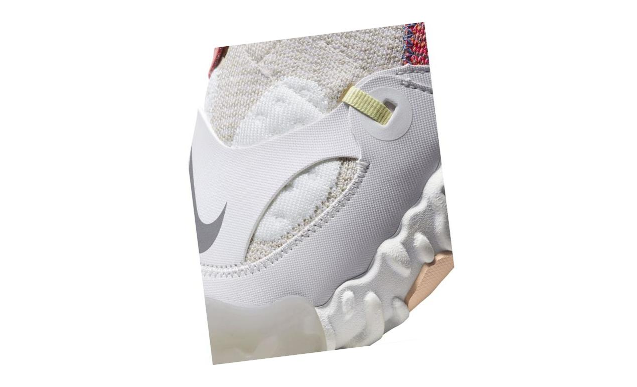 Nike ISPA OverReact Flyknit Summit White/Light Bone/Photon Dust/White