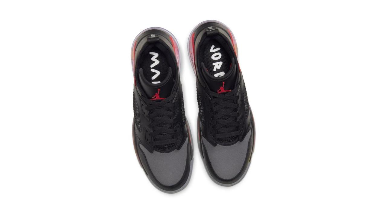 Jordan Mars 270 Low Black/University Red/Wolf Grey/Metallic Silver