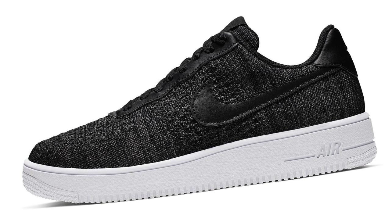 Nike Air Force 1 Flyknit 2.0 Black/White/Anthracite