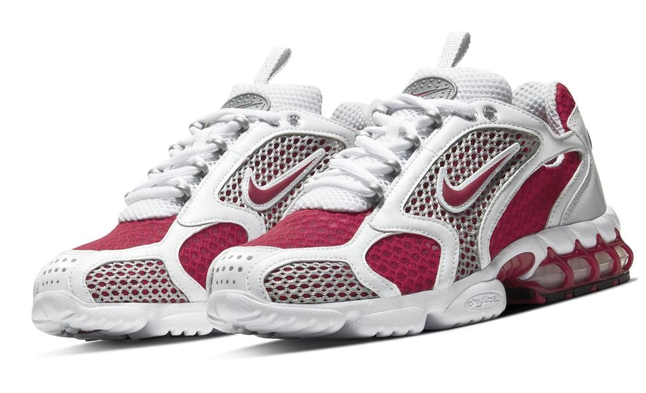 Nike Air Zoom Spiridon Cage 2 Cardinal Red/White/Metallic Silver/Cardinal Red