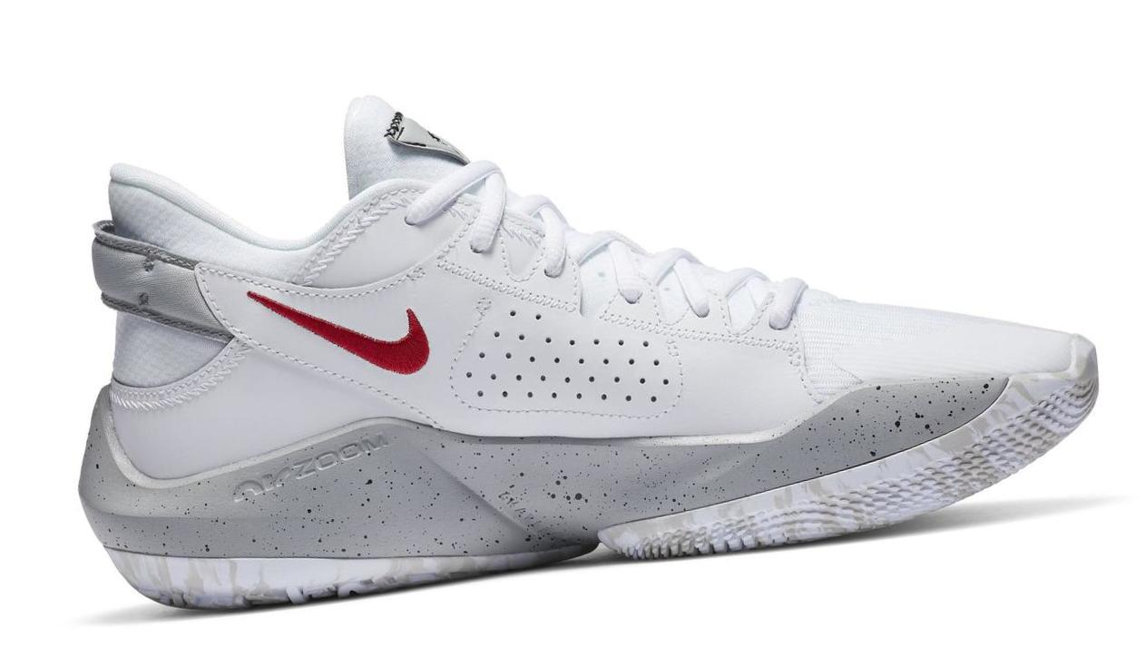 Zoom Freak 2 White/University Red/Grey Fog/White