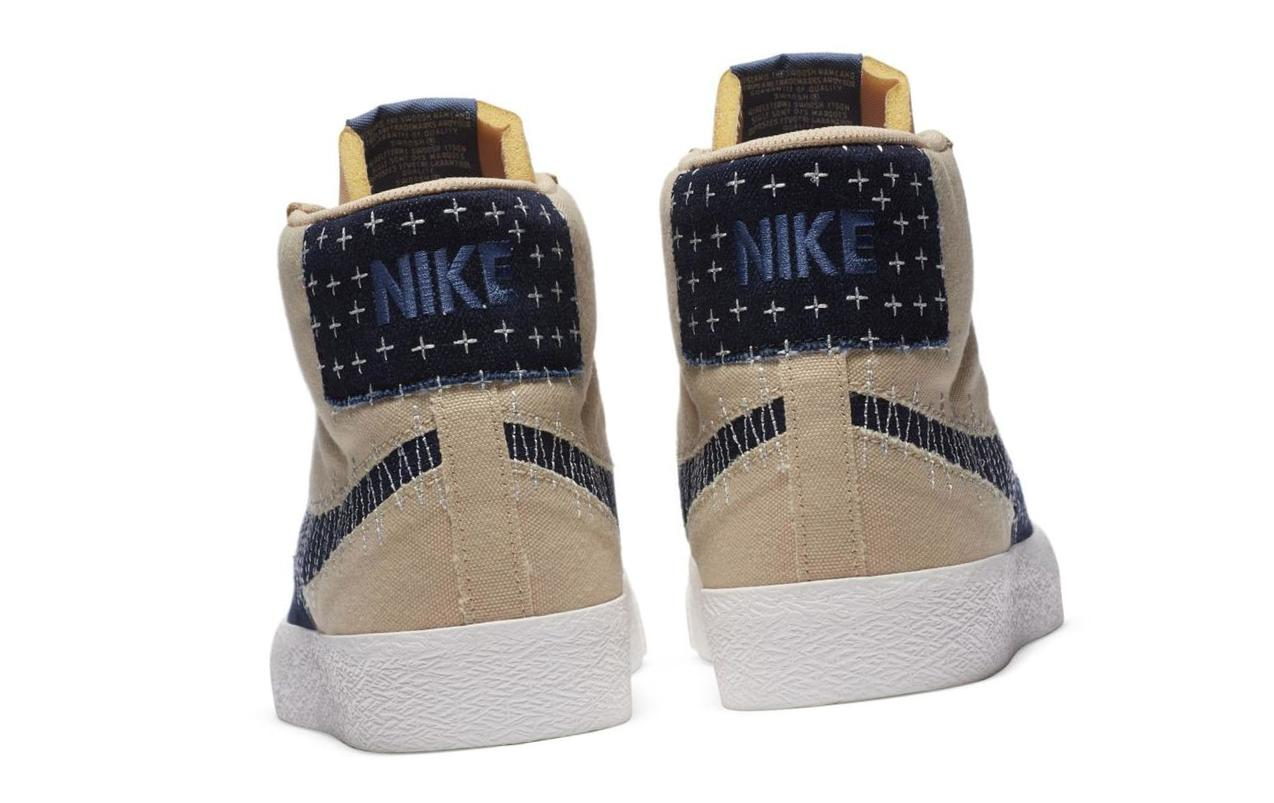 Nike SB Zoom Blazer Mid Premium Sesame/Sail/Gum Light Brown/Mystic Navy