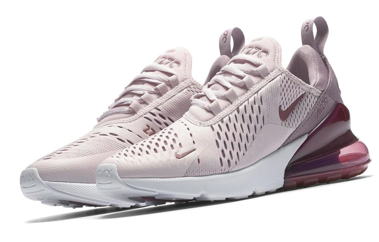 Nike Air Max 270 Barely Rose/Elemental Rose/White/Vintage Wine