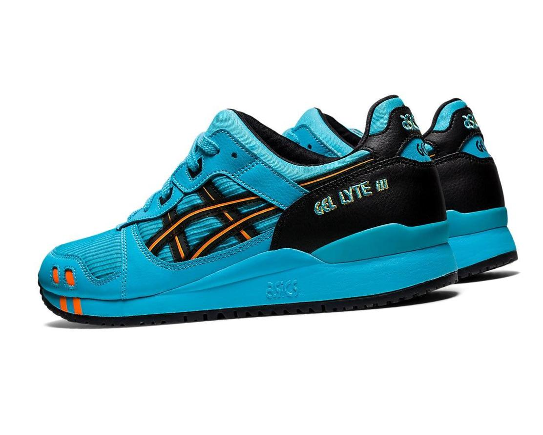 ASICS          GEL-LYTE III OG      AQUARIUM/SHOCKING ORANGE
