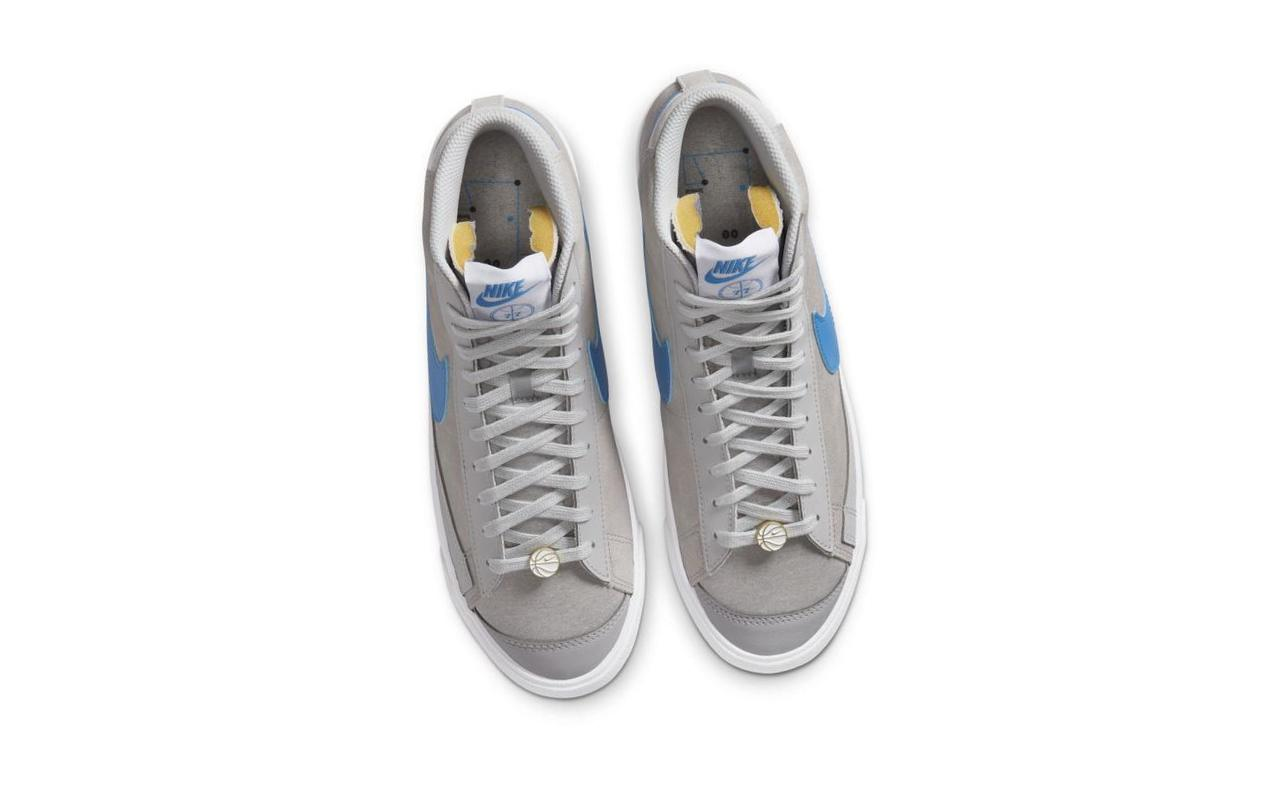 Nike Blazer Mid '77 NRG Grey Fog/White/Light Photo Blue