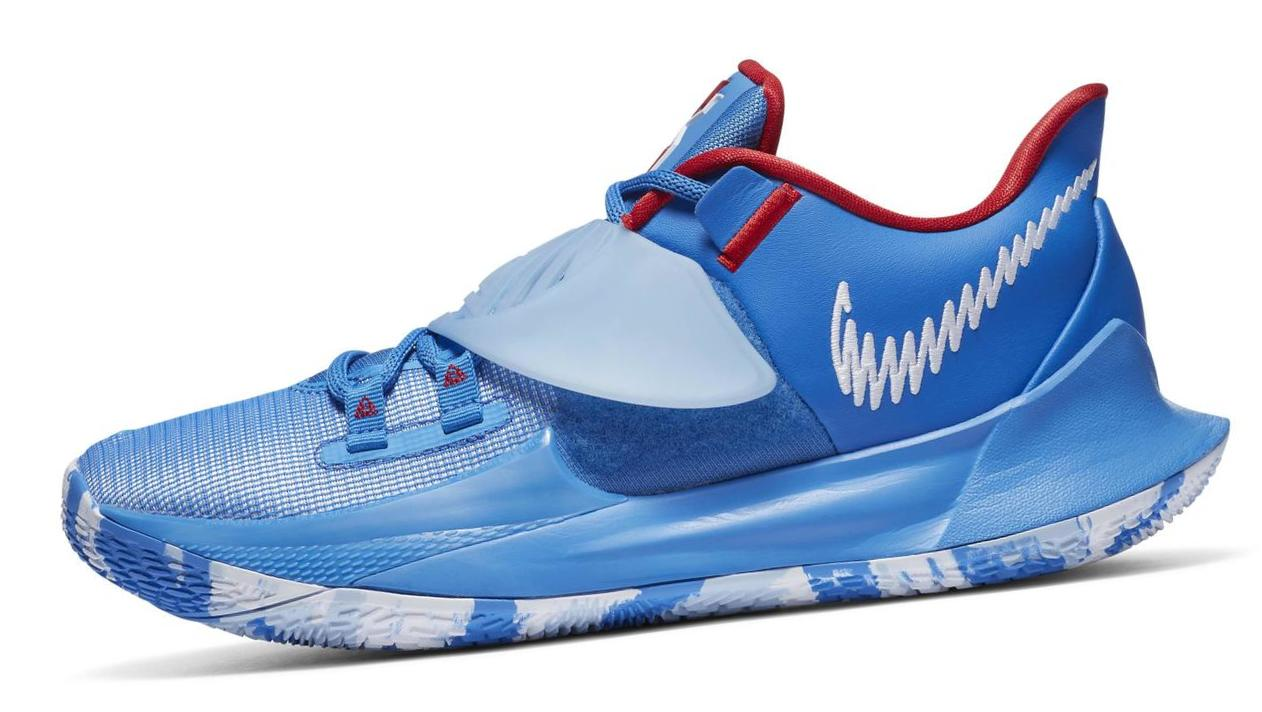 Kyrie Low 3 Pacific Blue/White