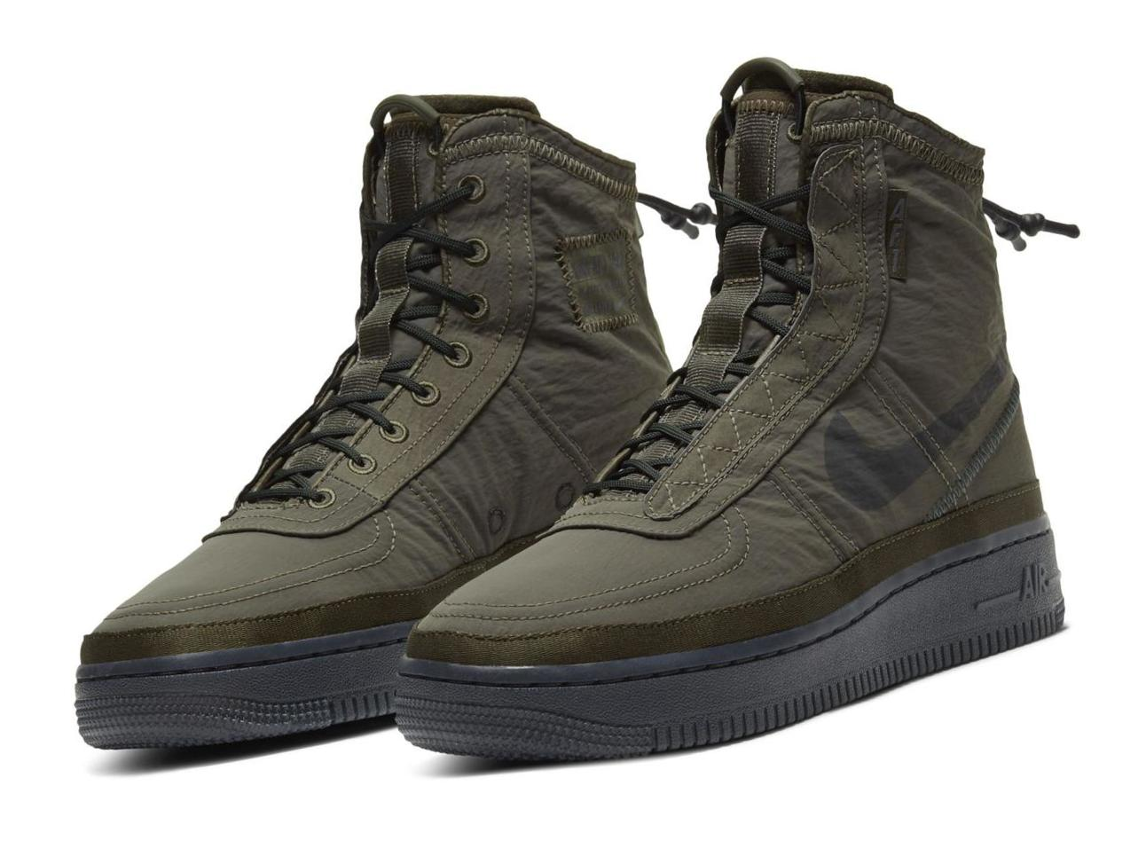 Nike Air Force 1 Shell Cargo Khaki/Seaweed/Off Noir