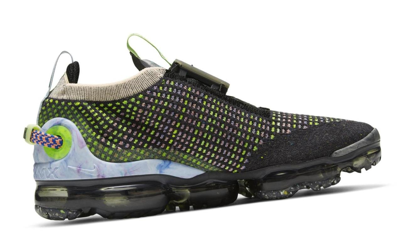 Nike Air VaporMax 2020 Flyknit Black/Barely Volt/Atomic Pink/White