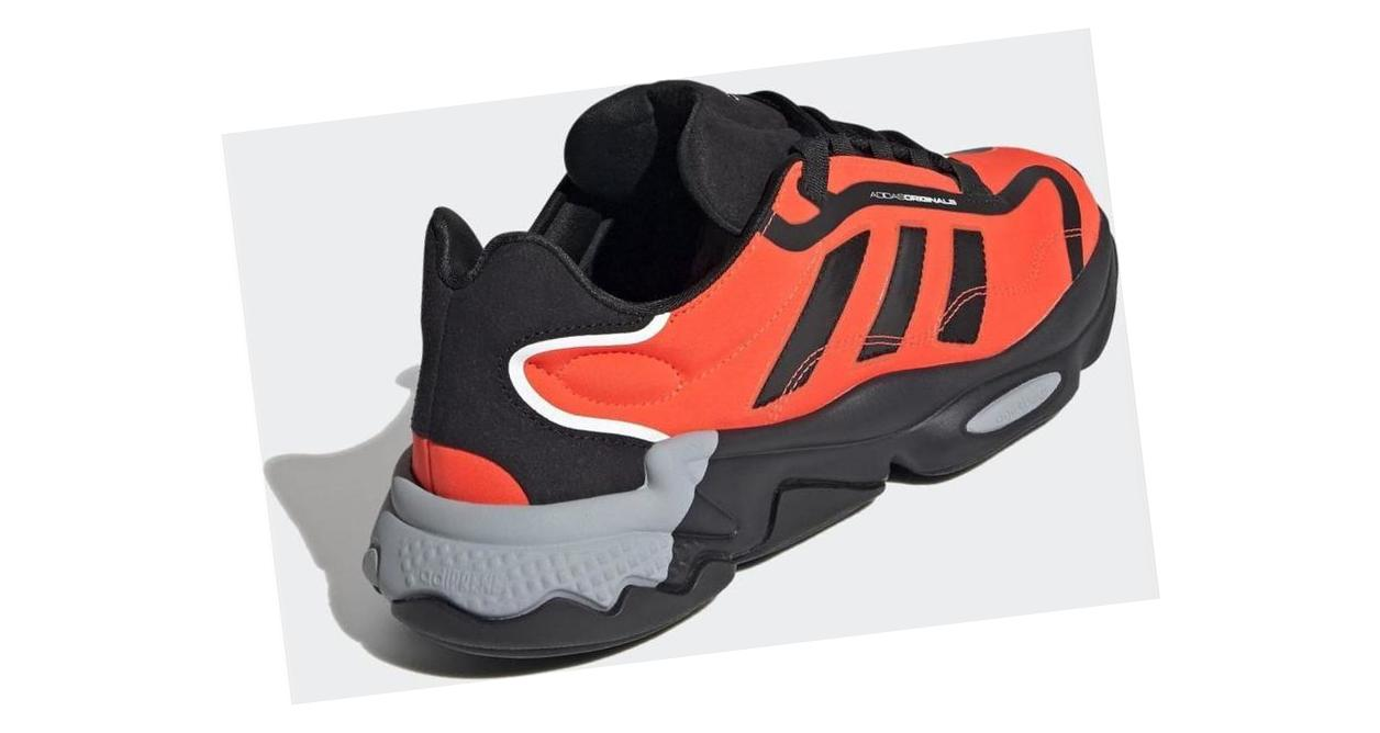 adidas OZWEEGO Pure Core Black / Solar Red / Grey Two