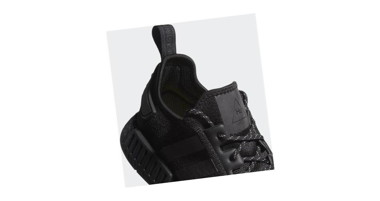 adidas Pharrell Williams NMD_R Core Black / Core Black / Core Black