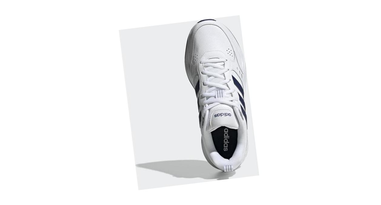 adidas Strutter Cloud White / Dark Blue / Matte Silver