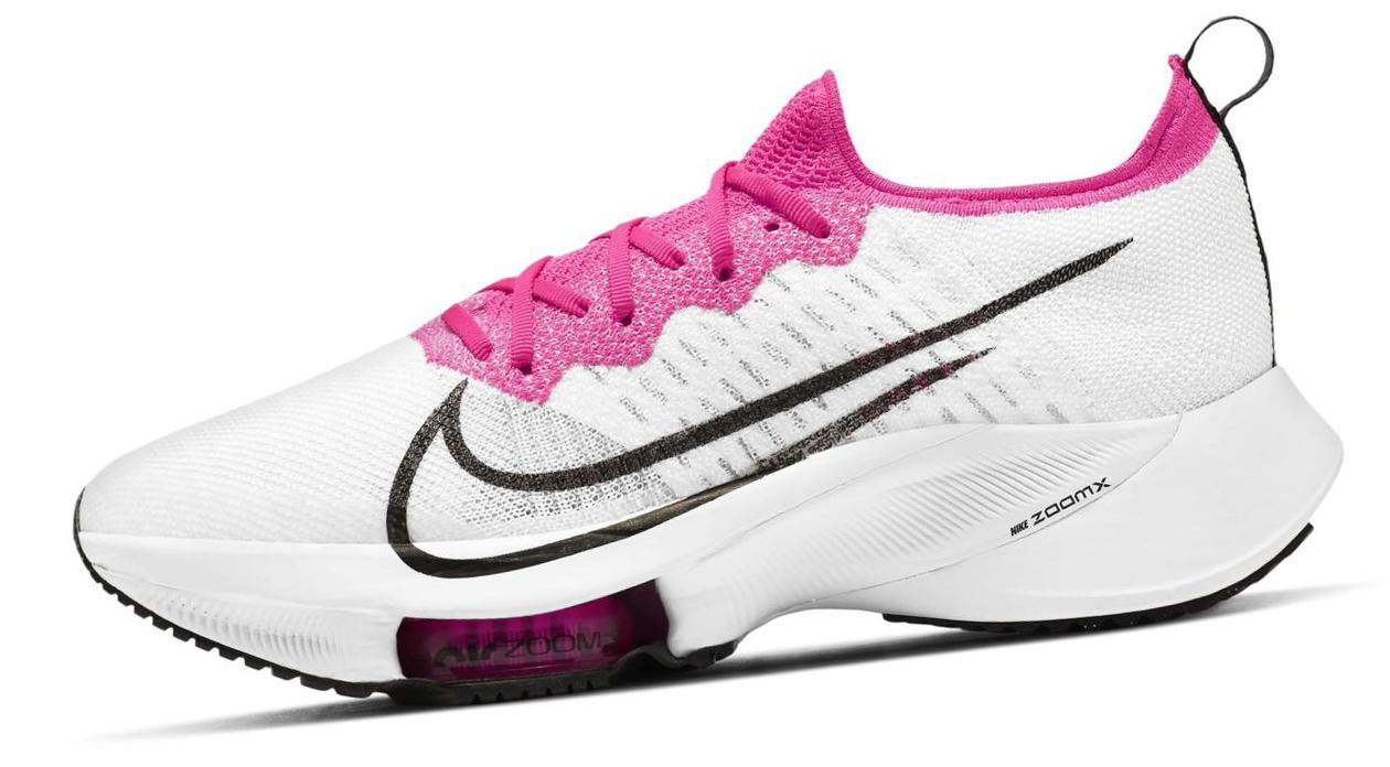 Nike Air Zoom Tempo NEXT% White / Pink Blast / Black