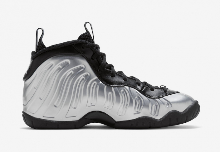 Nike Little Posite One Chrome