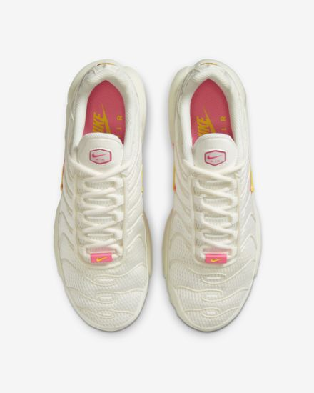 Nike Air Max Plus Sail / Pink Pixel / Opti Yellow
