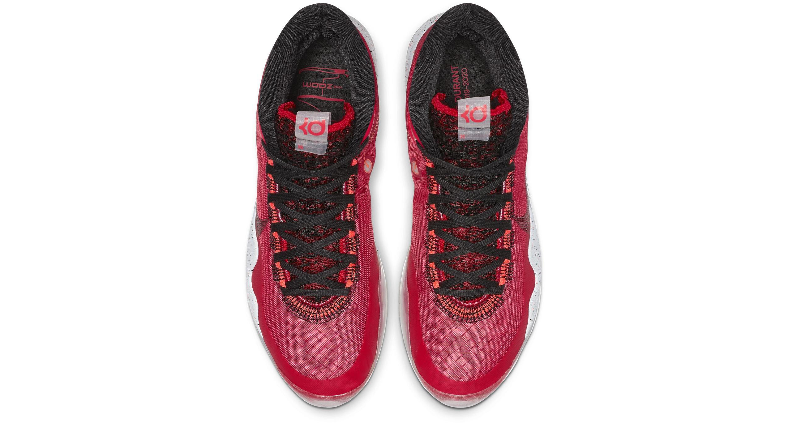 Nike Zoom KD12 University Red/White/Black