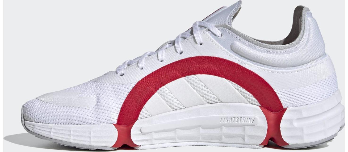 adidas Sonkei Cloud White / Cloud White / Scarlet