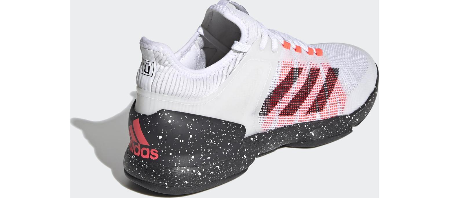 adidas Ubersonic 2 Hard Court Cloud White / Core Black / Signal Pink