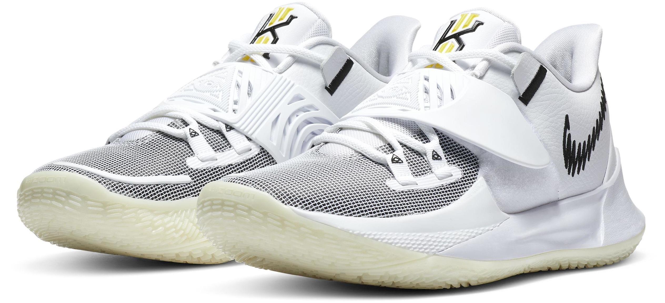Kyrie Low 3 Eclipse White/Black