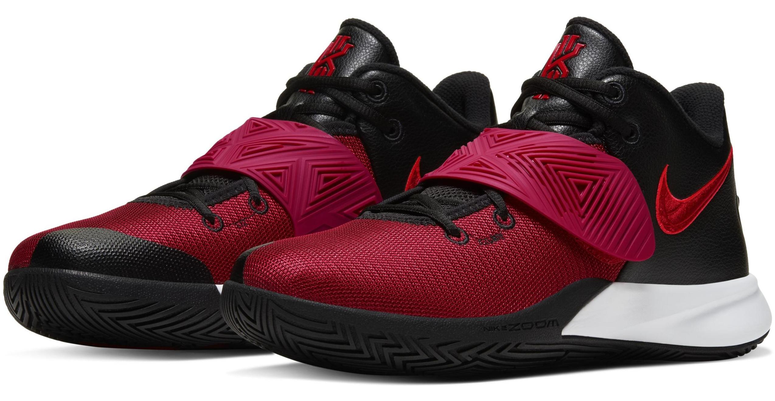 Kyrie Flytrap 3 Black/Bright Crimson/White/University Red