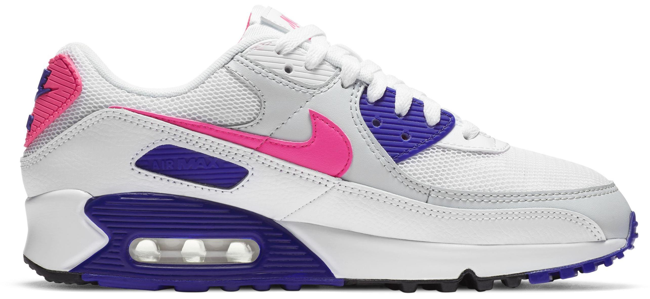 Nike Air Max 90 White/Concord/Pure Platinum/Hyper Pink