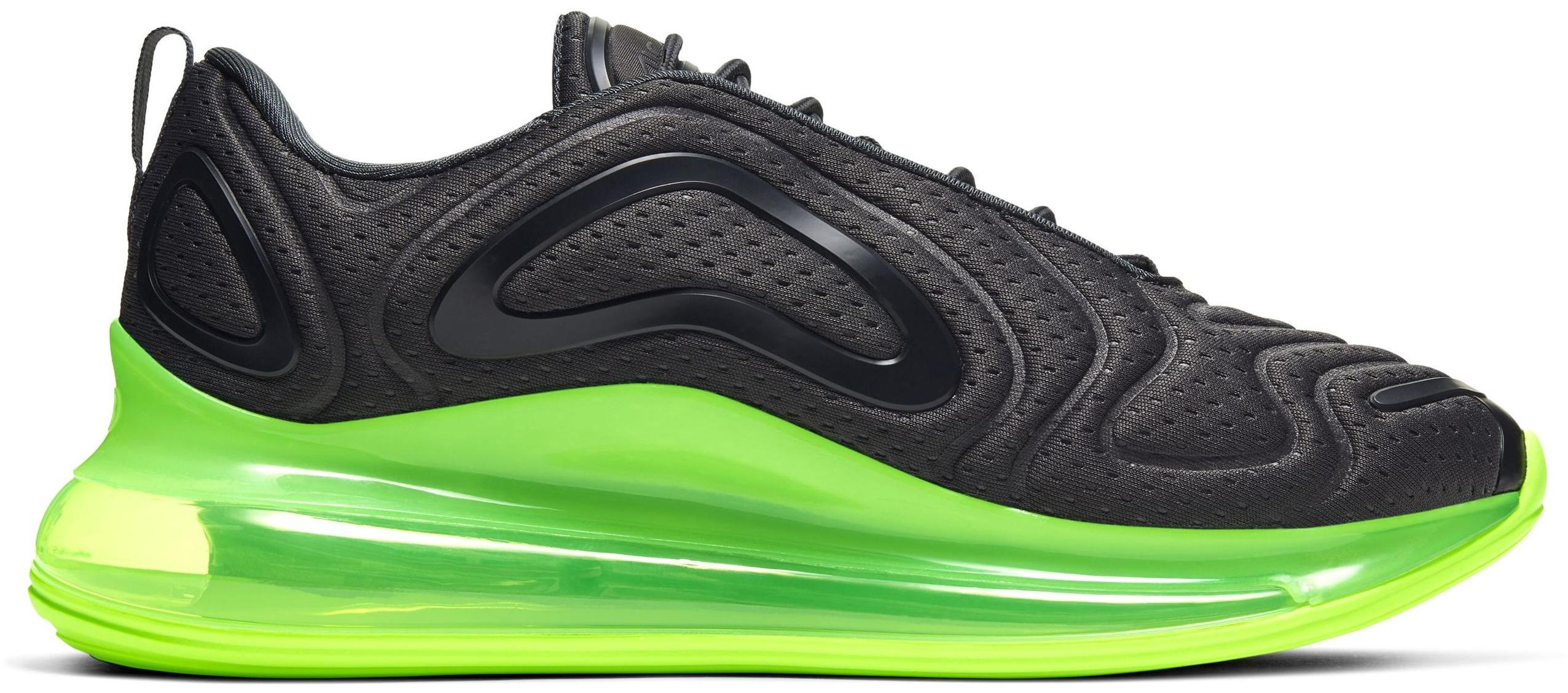 Nike Air Max 720 Anthracite/Black/Electric Green