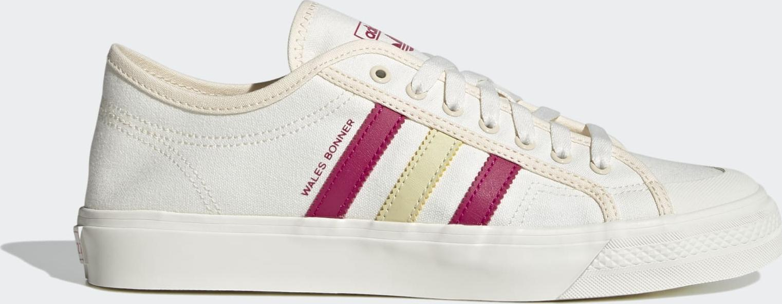 adidas Wales Bonner Nizza Lo Cream White / Scarlet / Dark Brown