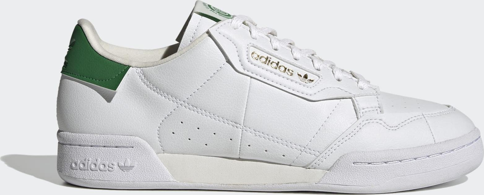 adidas Continental 80 Cloud White / Off White / Green