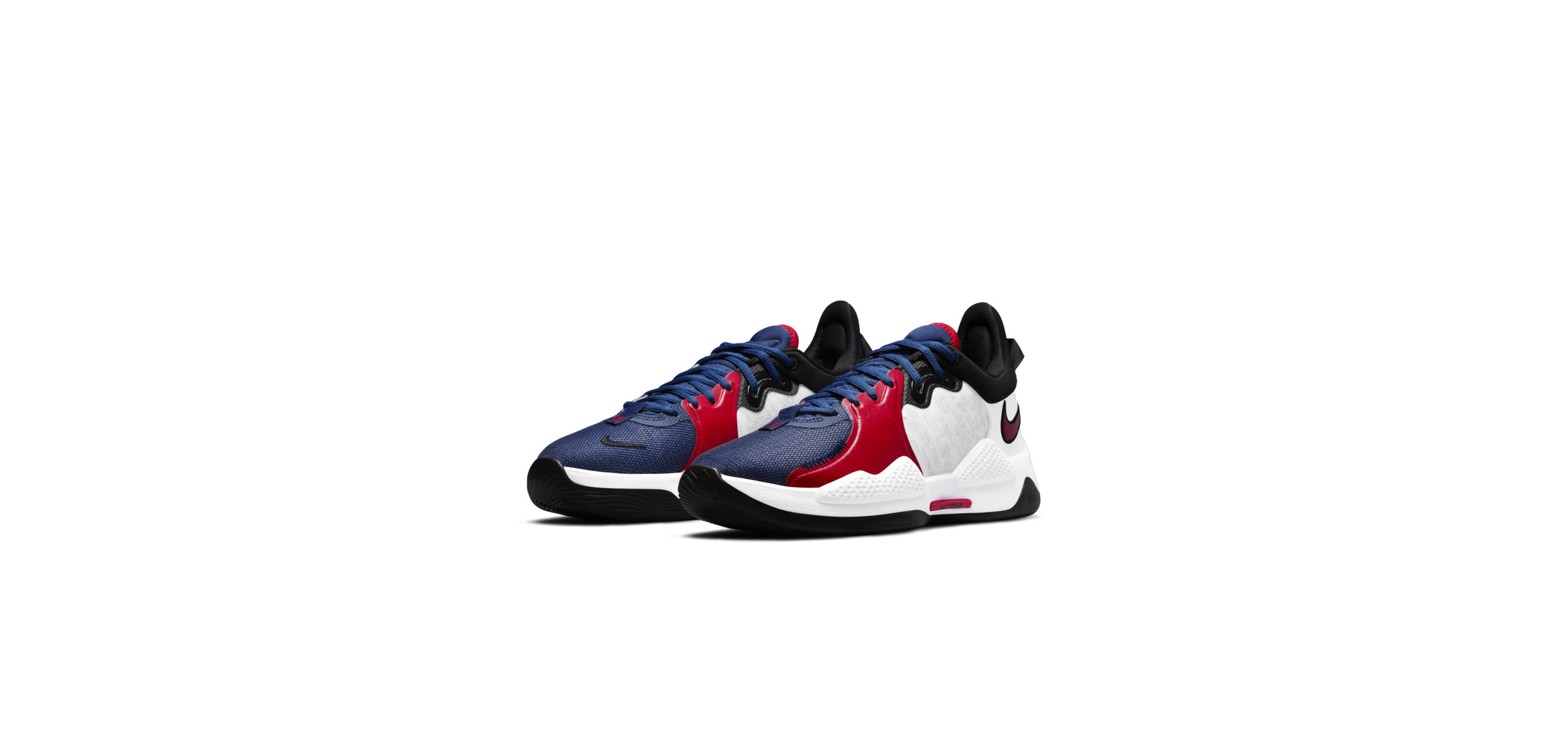 PG 5 White / Rush Blue / Black / University Red